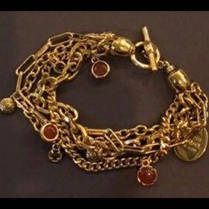 Henri Bendel cluster bracelet.